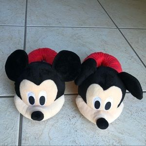Mickey Mouse Toddler Slippers